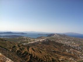 View of the caldera looking north