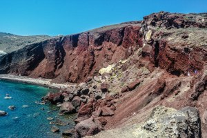 Red Beach Cinder Cone