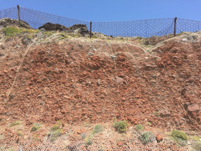Mass Wasting on Santorini