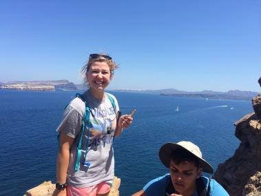 Holly at Cape Akrotiri (2016)