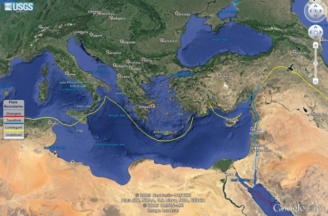 Tectonism in the Aegean