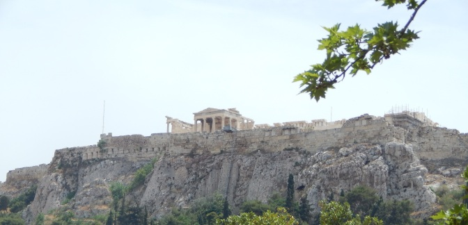 What lies beneath the Acropolis?