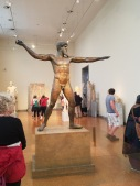 Now fast forwarding to present day, 2017 A.D.: Here is a statue of Zeus in the archeological museum in Athens. This museum informs its visitors on events that have happened during the Athenian time period. (Figure 6)