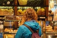 Sheridan at the bakery