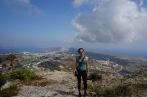 Naya at the top of Mesa Vouno