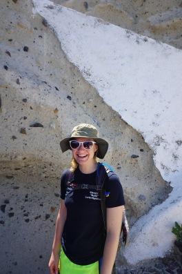 Sheridan on the trail - Cape Plaka (2017)