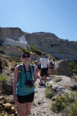 Erin on the trail  - Cape Plaka