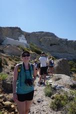 Erin on the trail - Cape Plaka