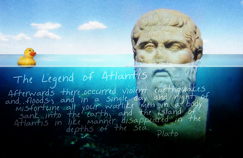 Into the Myth of Atlantis and the Striking Similarities to Santorini.