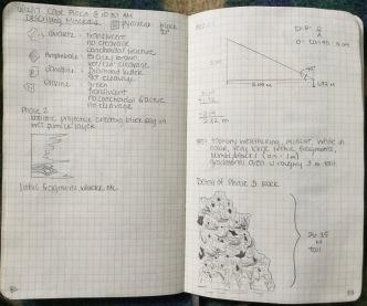 Figure 8. Cape Plaka description continued