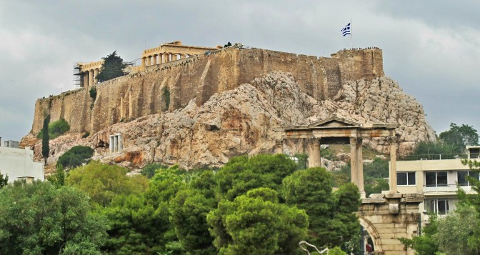Rocky Heights: Sacred Land and Geology meet in Athens
