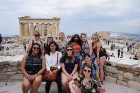 Class of 2018 at the Acropolis