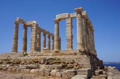 The Temple of Poseidon at Sounio