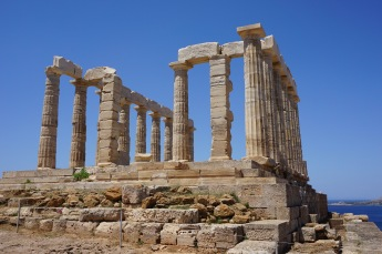 The Temple of Poseidon at Sounio