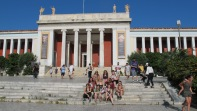 The girls at the National Archaeological Museum