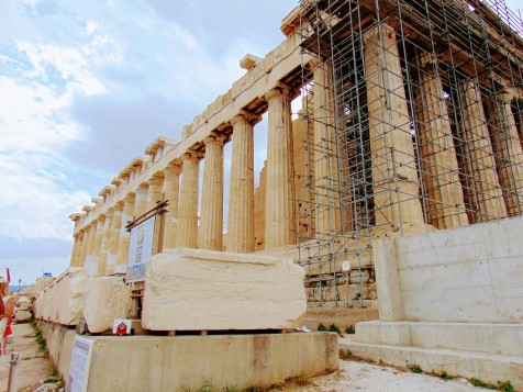 Figure 1: Of all the historic remnants of Ancient Greece, the Acropolis has arguably been one of the most famous for centuries. In order to preserve this monument, the Acropolis Restoration Project was established. However, this ongoing endeavor has backfired and now is further contributing to the debt crisis plaguing the Greek State.