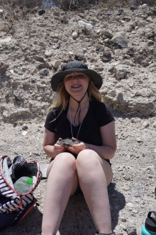 Sarah at Ahmoudhi Quarry