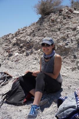 Rachael at Ahmoudhi Quarry