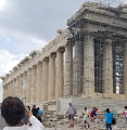 The Parthenon is having some portions restored. This is being done in order to understand the building better and catch the attention of tourist to the area. A large scale reconstruction like this sometimes will require the approval of the state because of its cultural and sentimental value to the citizens in the area.